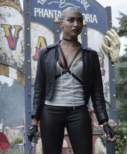 Chilling Adventures of Sabrina Prudence Night Leather Jacket