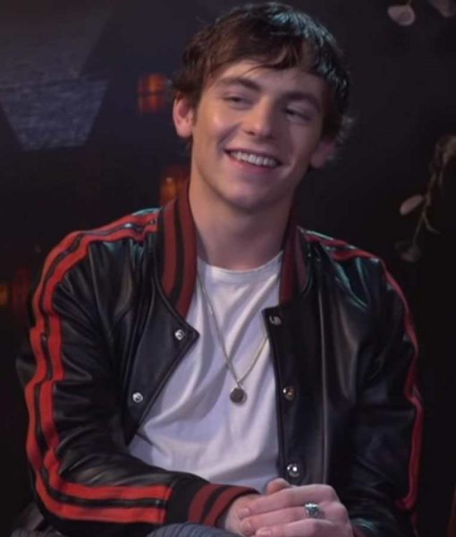 Ross Lynch Chilling Adventures of Sabrina Bomber Jacket