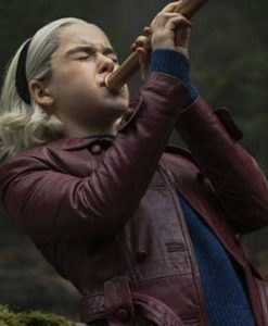 Chilling Adventures of Sabrina Spellman Peacoat