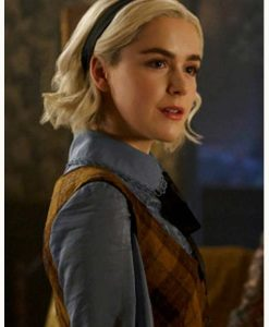 Chilling Adventures of Sabrina Spellman Checkered Sweater