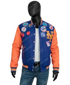 Akeem Coming 2 America 2021 Varsity Jacket With Patches