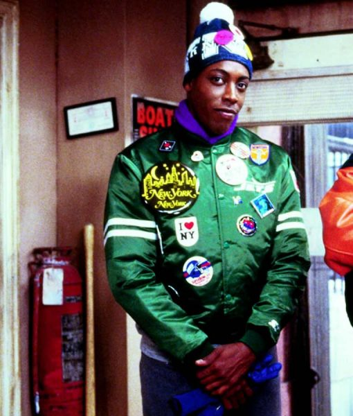 Coming to America Arsenio Hall Varsity Jacket With Patches