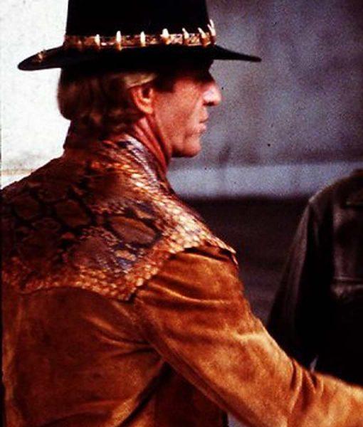 Crocodile Dundee Mick 'Crocodile' Dundee Leather Jacket