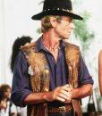 Crocodile Dundee Paul Hogan Crocodile Leather Vest