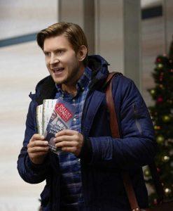 Cross Country Christmas Greyston Holt Blue Jacket