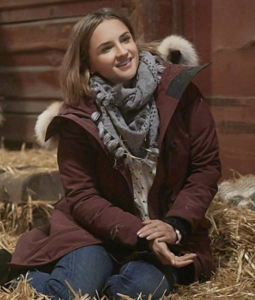 Lina Cross Country Christmas Rachael Leigh Cook Parka