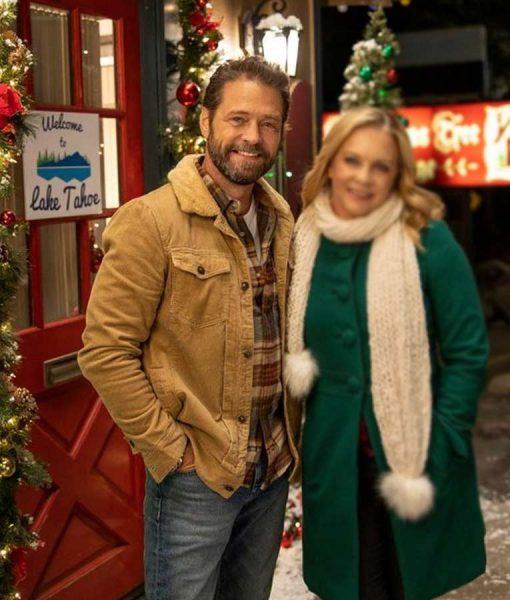 Dear Christmas Chris Massey Jacket With Fur Collar