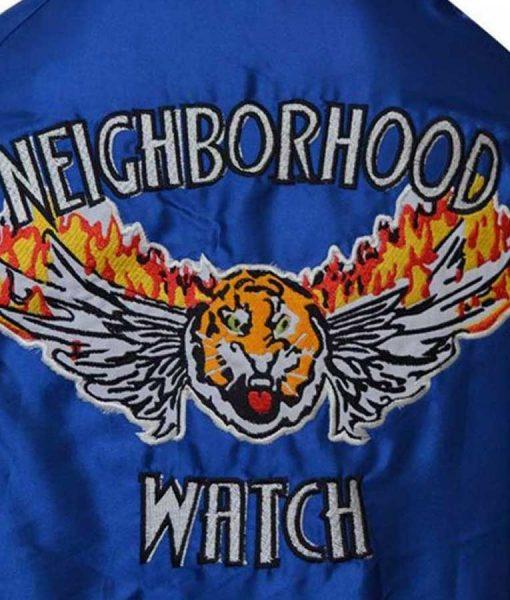 The Watch Evan Ben Stiller Varsity Jacket