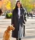 Hailee Steinfeld Hawkeye 2021 Kate Bishop Checkered Coat