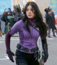 Hailee Steinfeld Hawkeye Purple Jacket