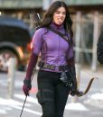 Hailee Steinfeld Kate Bishop Hawkeye Purple Jacket