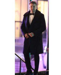 Clint Barton Hawkeye Black Fur Collar Coat