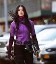 Hawkeye 2021 Hailee Steinfeld Purple Jacket