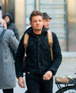 Hawkeye 2021 Clint Barton Jeremy Renner Black Jacket