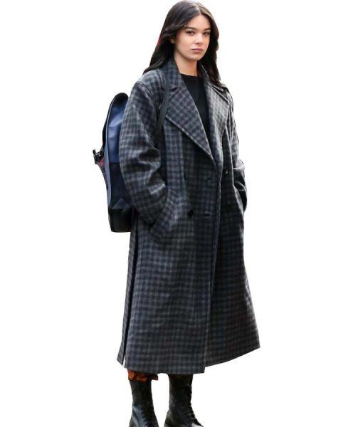 Hawkeye 2021 Hailee Steinfeld Checkered Coat