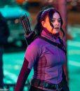 Hawkeye 2021 Kate Bishop Purple Jacket