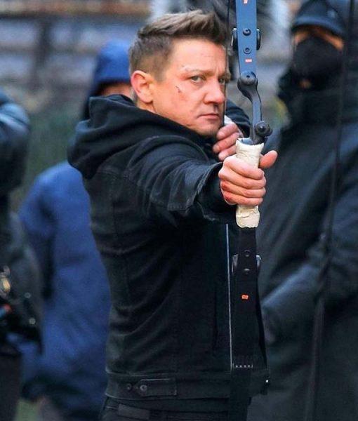 Hawkeye Clint Barton Black Jacket