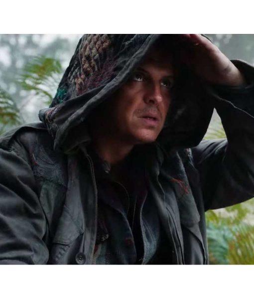 John Parry His Dark Material S02 Andrew Scott Hooded Jacket