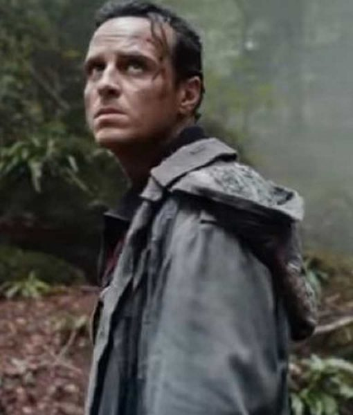 His Dark Material S02 Andrew Scott Hooded Jacket