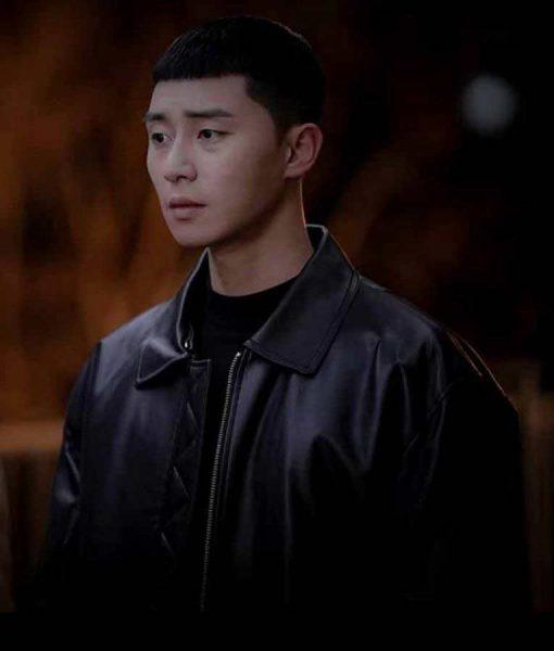 Itaewon Class Park Seo-Joon Leather Jacket