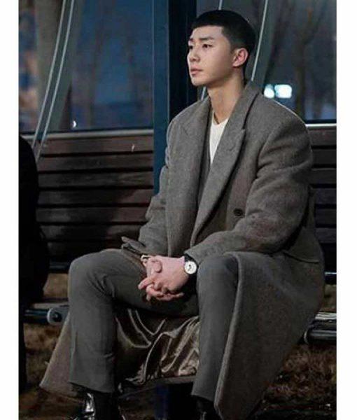 Park Sae Ro Yi Itaewon Class Park Seo-Joon Grey Coat
