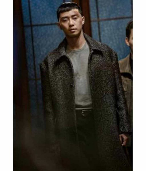 Park Sae Ro Yi Grey Trench Coat