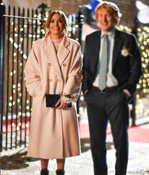 Jennifer Lopez Marry Me 2021 Trench Coat