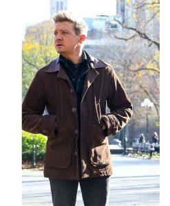Jeremy Renner Clint Barton 2021 Brown Jacket
