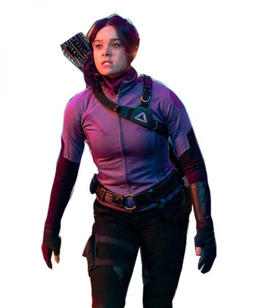 Kate Bishop Purple Jacket