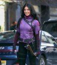 Kate Bishop Hawkeye 2021 Hawkeye Hailee Purple Jacket