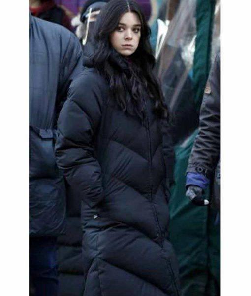 Hawkeye Kate Bishop Hailee Steinfeld Puffer Coat
