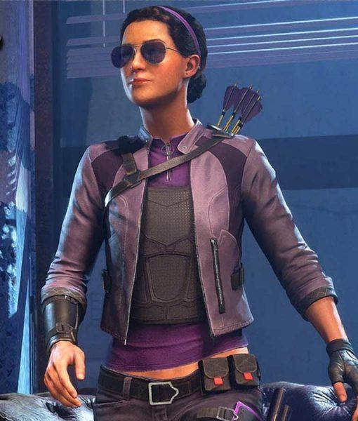 Kate Bishop Marvel's Avengers Leather Jacket