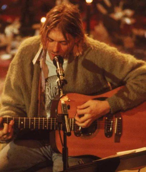 Kurt Cobain Cardigan