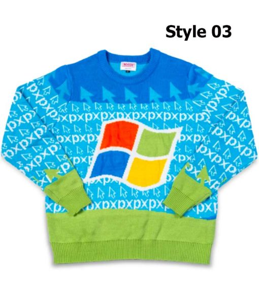 Microsoft Ugly Sweater 2020 For Unisex