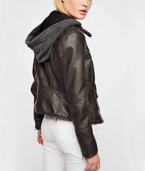 NCIS Los Angeles Kensie Blye Black Leather Jacket