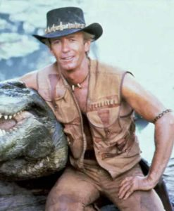 Paul Hogan Crocodile Dundee Bown Vest