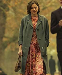 Pennyworth Emma Corrin Coat