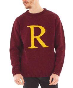 Ron Weasley R Letter Sweater
