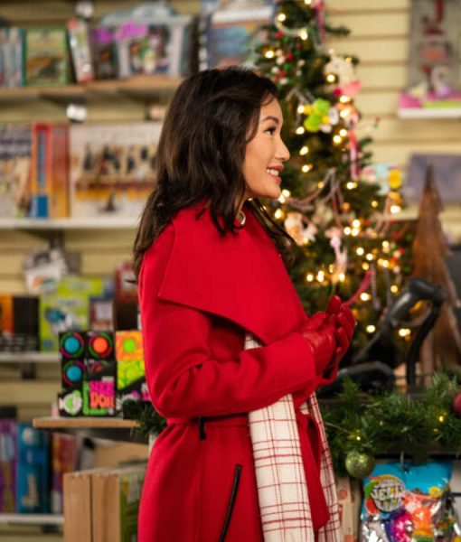 Suzy Yung A Sugar and Spice Holiday Coat