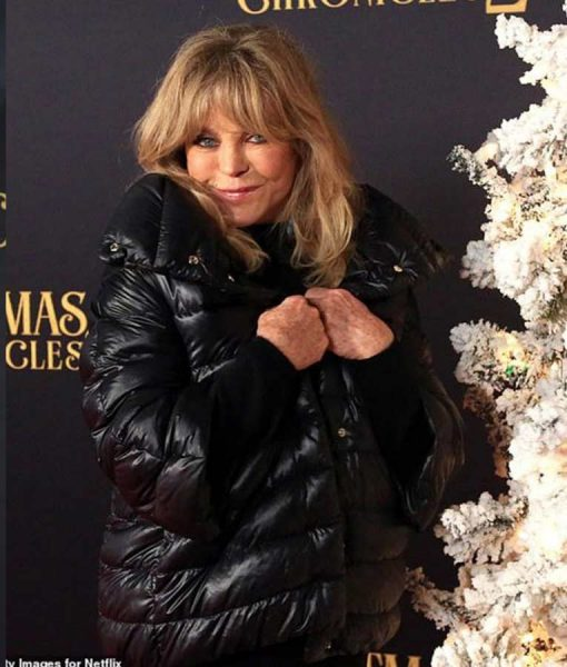 The Christmas Chronicles 2 Goldie Hawn Premiere Puffer Jacket