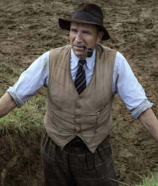 The Dig Basil Brown Vest