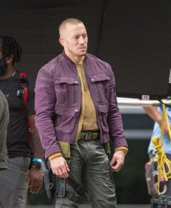 The Falcon and the Winter Soldier Batroc Purple Jacket