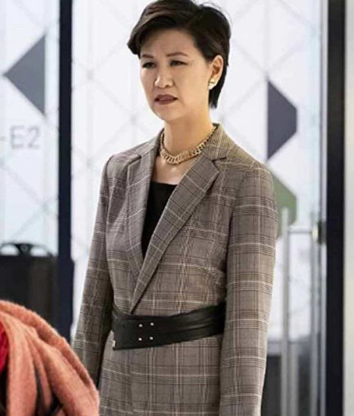 The Flight Attendant Cindy Cheung Coat