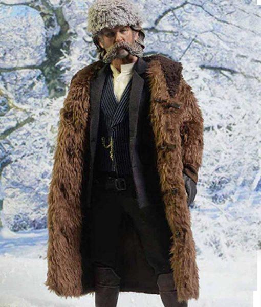 The Hateful Eight Kurt Russell Fur Coat