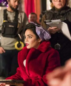 The Princess Switch Switched Again Red Fur Coat