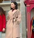 The Princess Switch Switched Again Stacy trench Coat