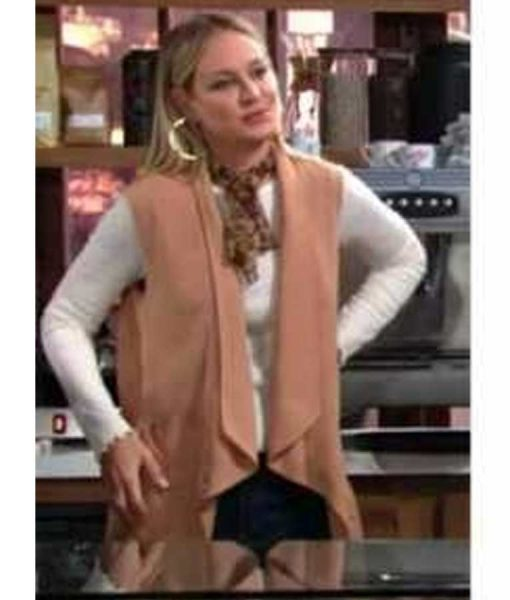 The Young and the Restless Drape Vest