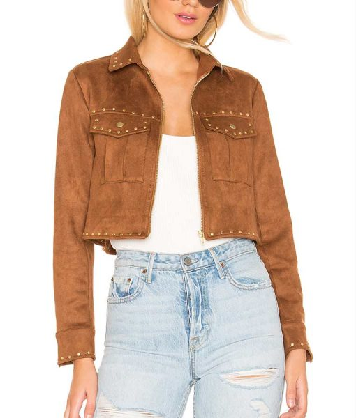 The Young and the Restless Mariah Copeland Suede Leather Jacket