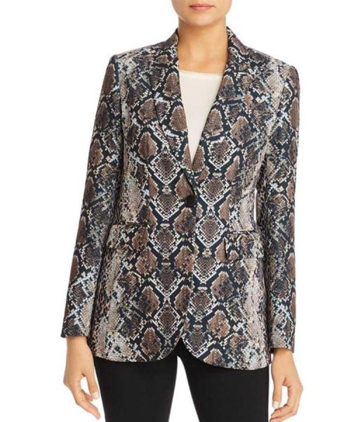 Tracey Bregman The Young and the Restless Snakeskin Blazer