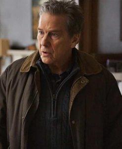 Tim Matheson Virgin River Doc Mullins Brown Cotton Jacket